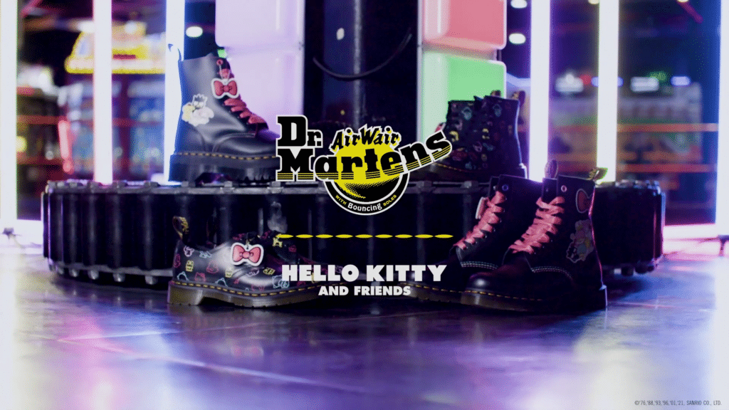 The Dr. Martens x Hello Kitty collection. (Dr. Martens)