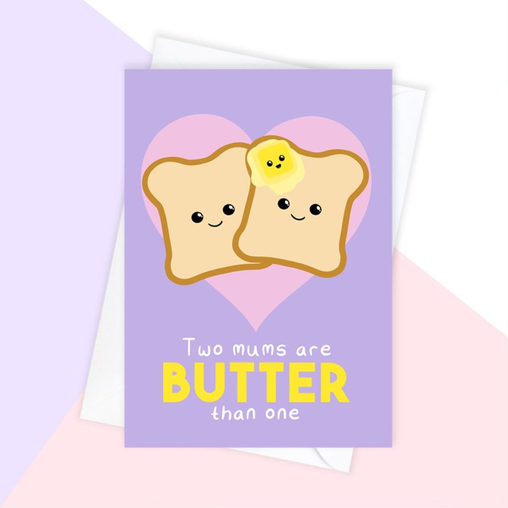 Two mums are butter than one. (Etsy/TorisLittleBubble)