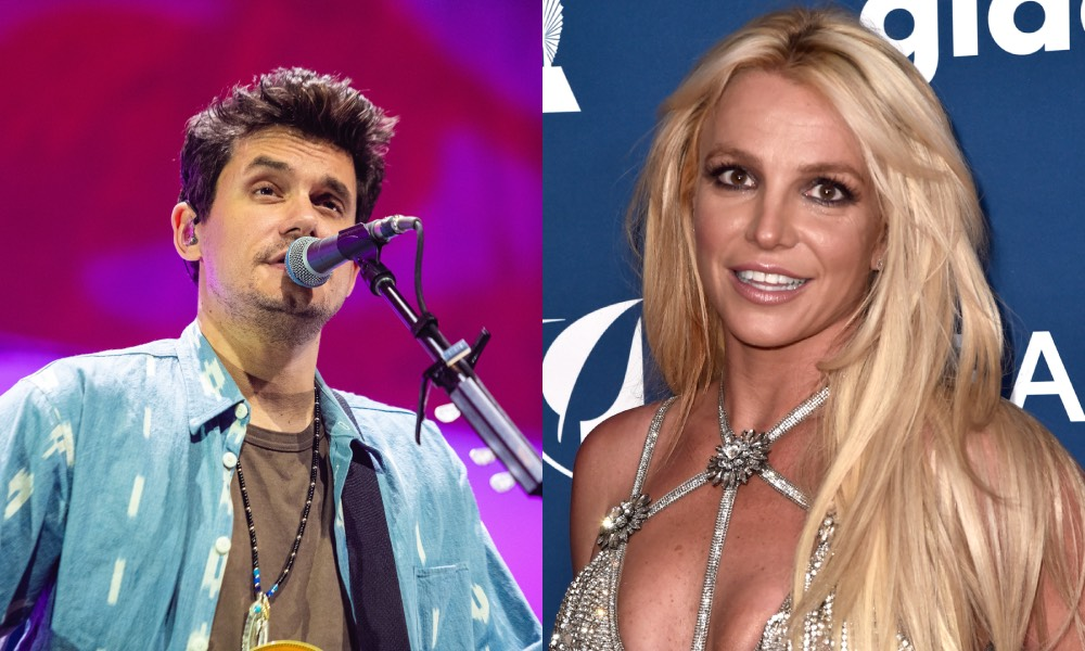 John Mayer and Britney Spears