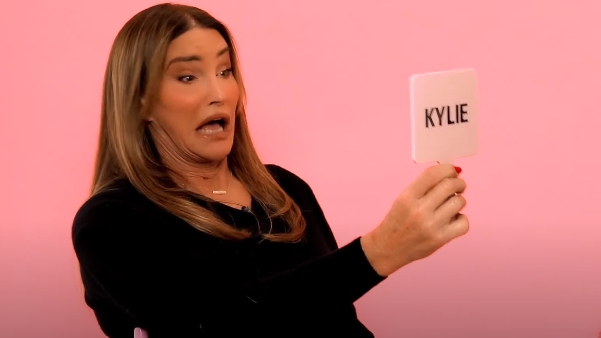 Caitlyn Jenner got her daughter Kylie Jenner to do her makeup