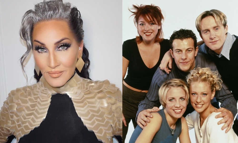 Michelle Visage and Steps