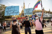 myanmar protests military coup lgbt gays for democracy