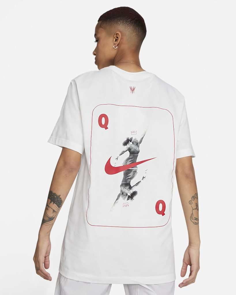 The 'Queen of the Court' t-shirt. (Nike)