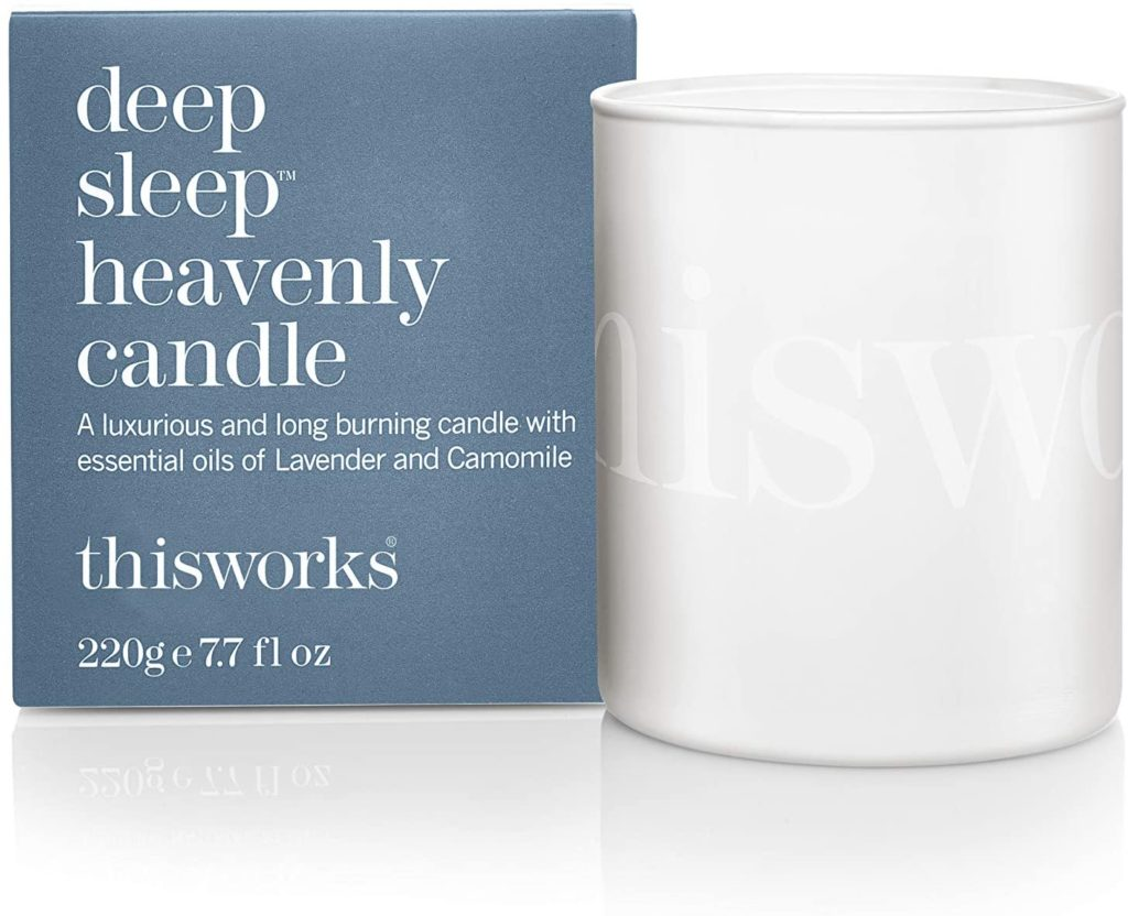 This scented candle will contribute to a better sleep. (Amazon)