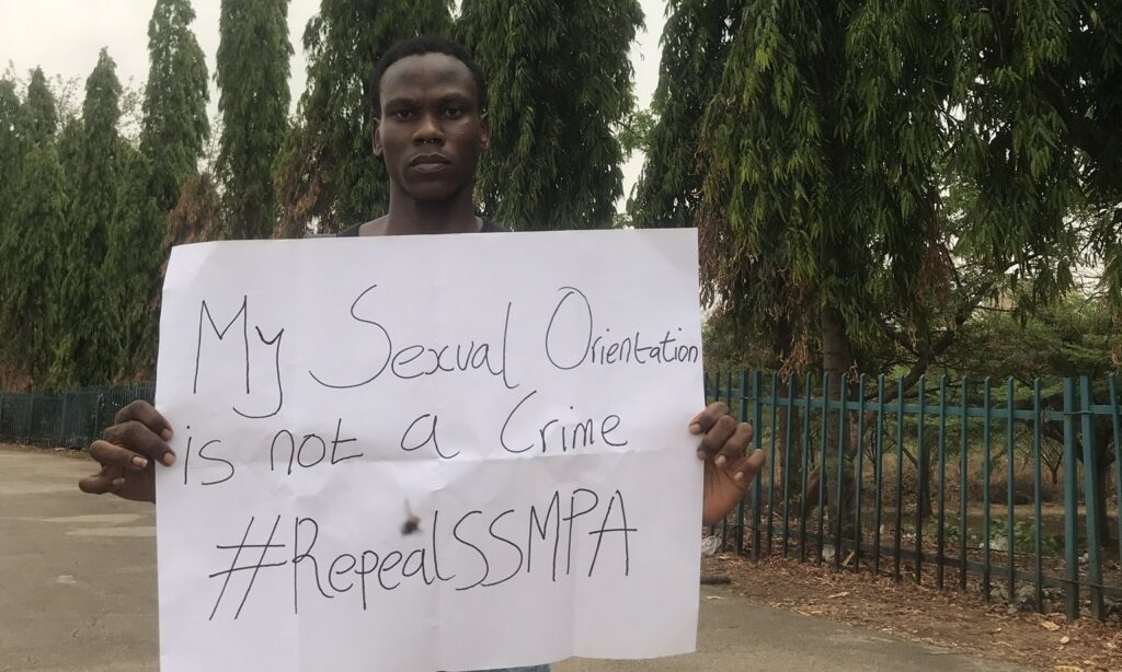 Nigeria: YouTuber ends hunger strike against barbaric anti-gay laws