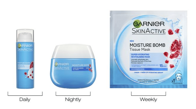 The Garnier three-in-one moisturiser bomb is a popular product among customers. (Boots)
