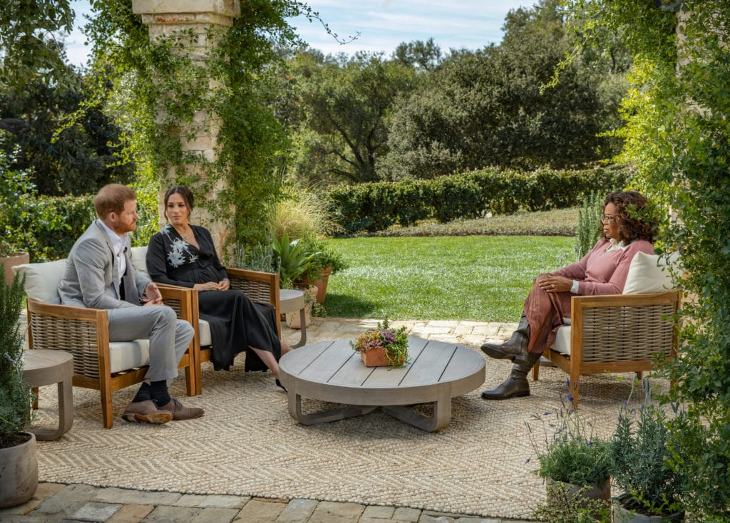 Oprah Winfrey interviews Prince Harry and Meghan Markle