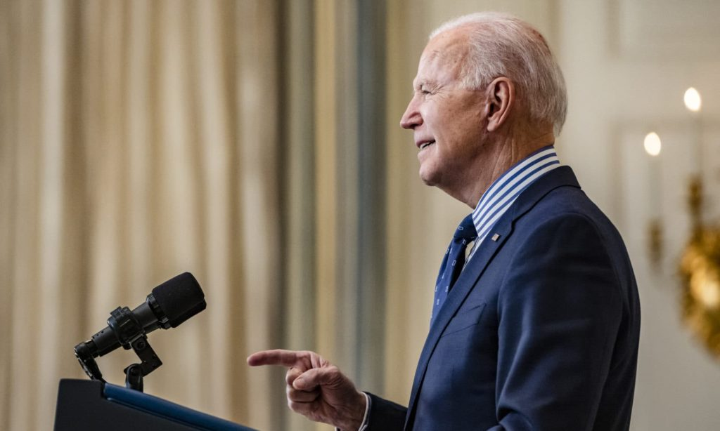 Joe Biden is due to sign the two executive orders as a part of International Women's Day 2021.