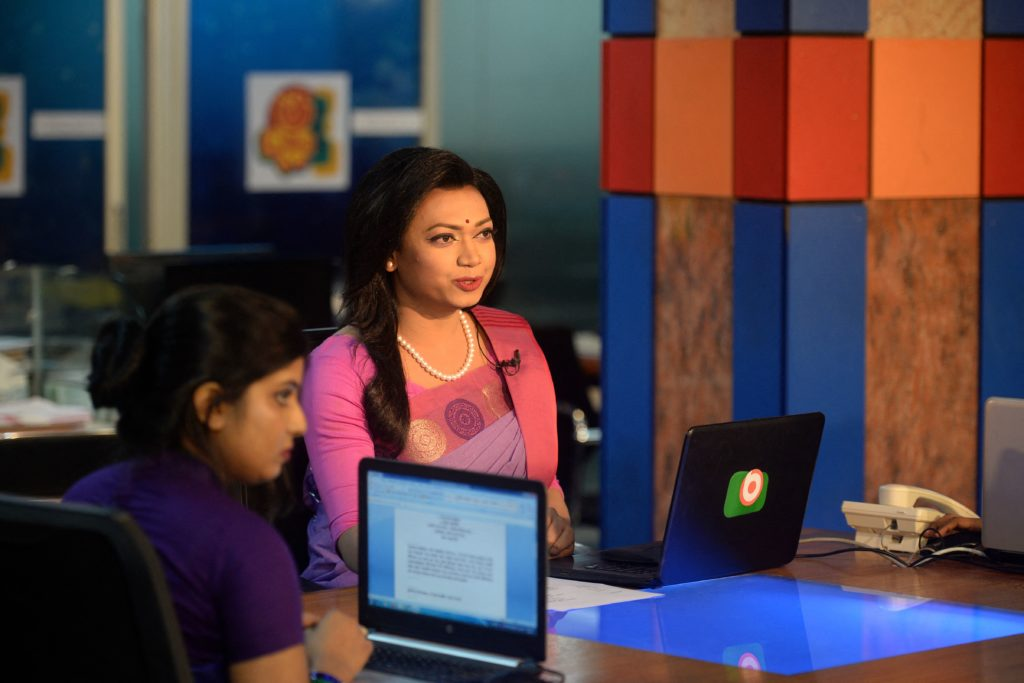 Bangladesh: First trans TV news anchor part of push to 'change attitudes'