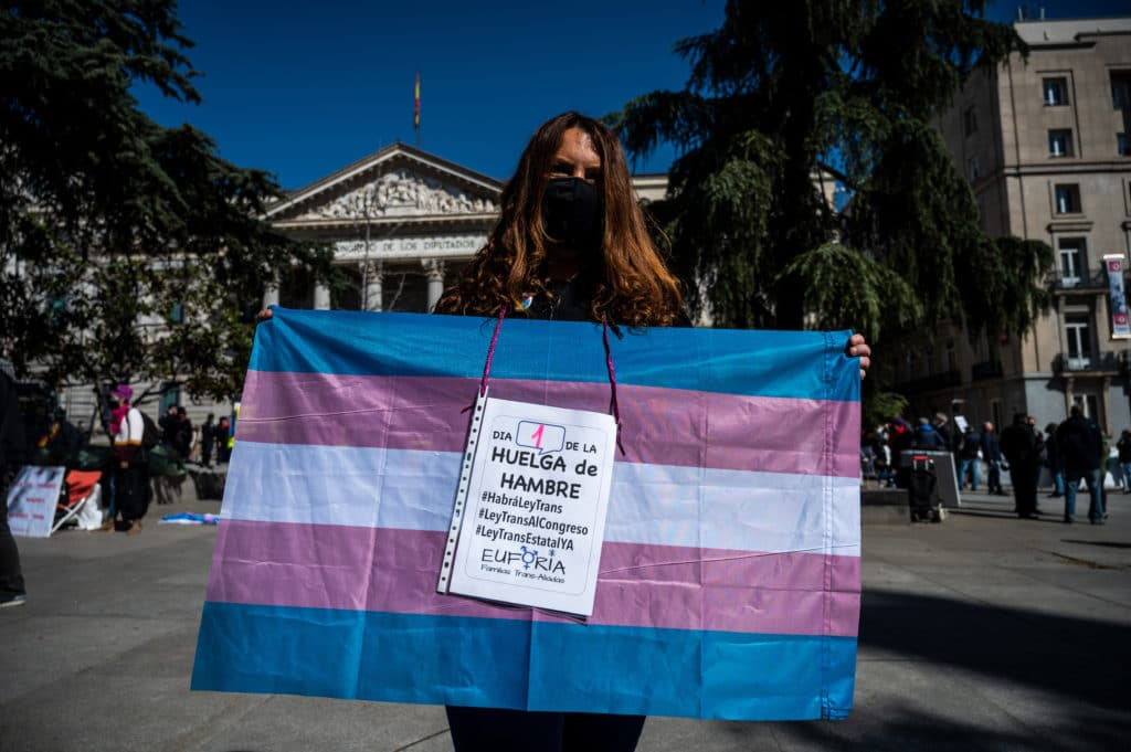 Spanish activists use hunger strike to push for new transgender law