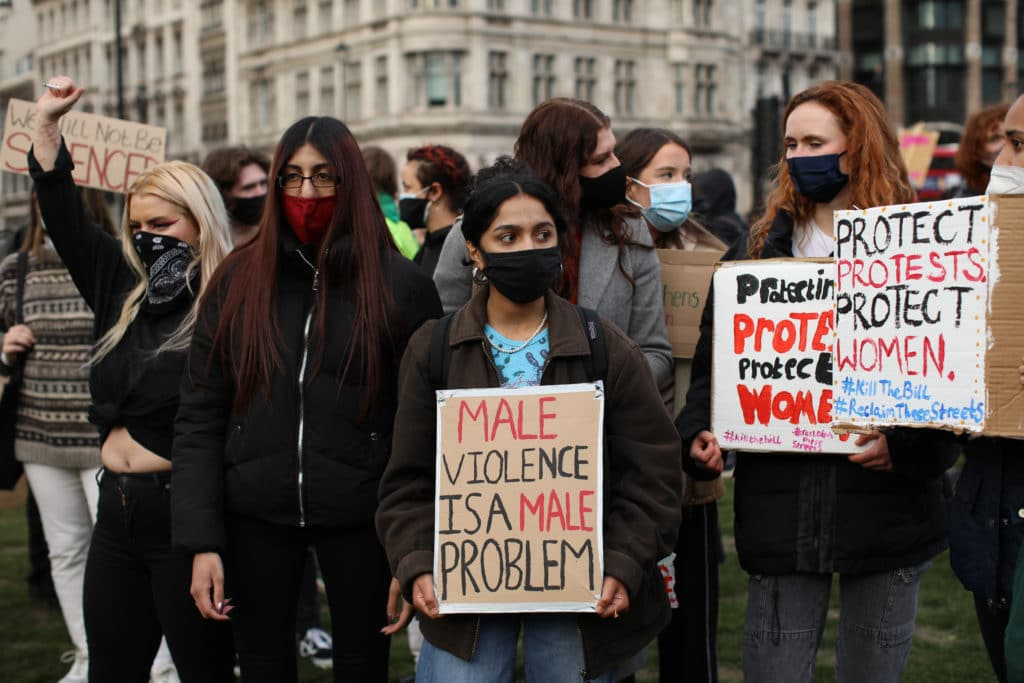 Sisters Uncut: Don't just read about male violence. Go and protest against it