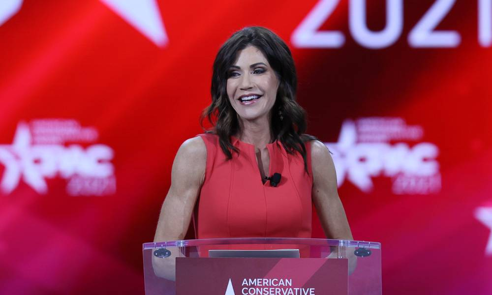 South Dakota governor Kristi Noem CPAC