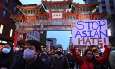 Stop Asian Hate Atlanta shooting vigil Washington DC