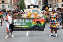 "Nigeria law criminalises sex ""against the order of nature"", which is used against LGBT+ people."