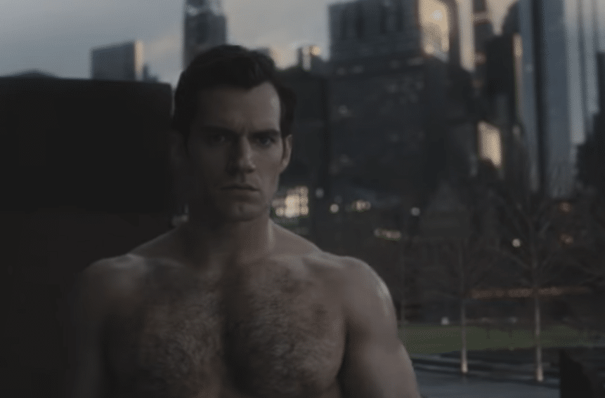 Henry Cavill stars in the film as Superman. (YouTube)