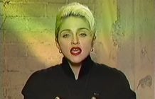 Madonna on Newsnight