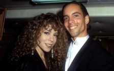 Mariah Carey with her brother Morgan