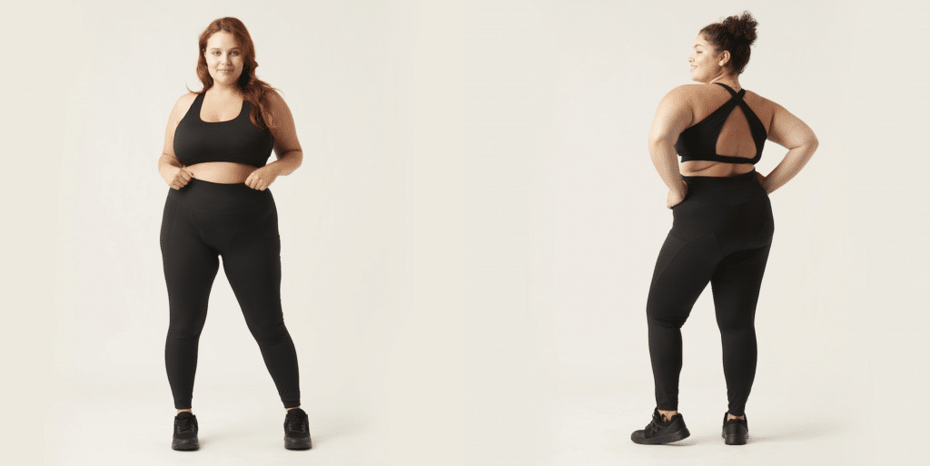 The new recycled leggings from Modibodi let you ditch disposable pads, liners and tampons and are a win for the planet. (Modibodi)