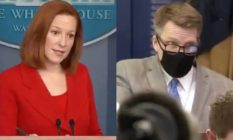 Jen Psaki Owen Jensen White House press briefing