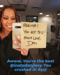 Regina King Instagram SNL Dan Levy