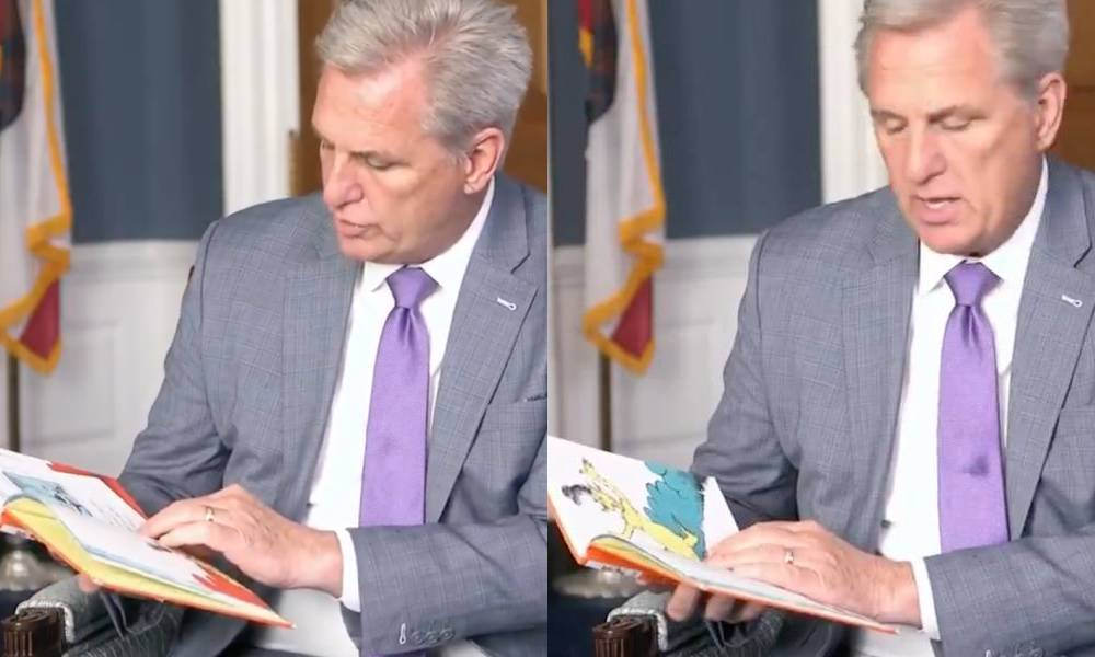 Kevin McCarthy Green Eggs and Ham Dr Seuss