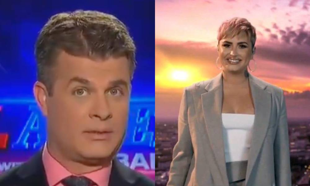 Real America with Dan Ball OAN Demi Lovato