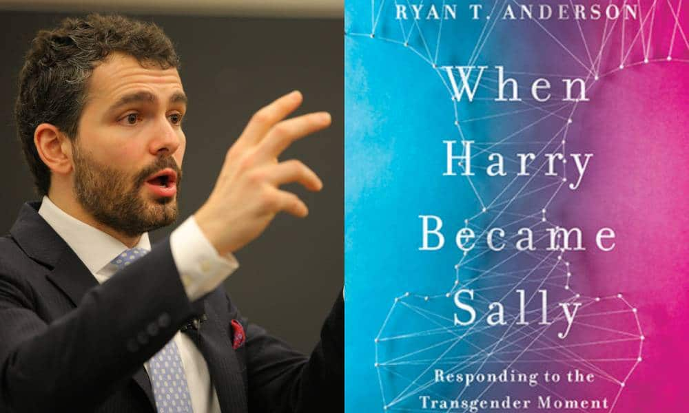 Ryan T Anderson When Harry Became Sally Trans Book