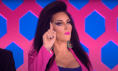 Michelle Visage has been a Drag Race judge for 10 years, and still receives heat for her harsh critiques.