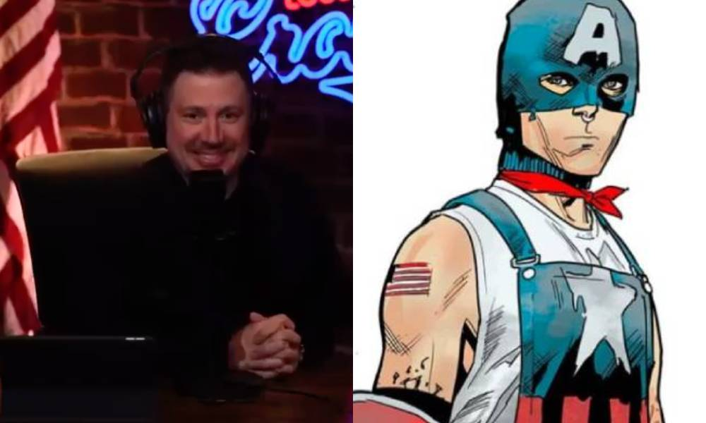 Louder with Crowder Marvel Comics Captain America