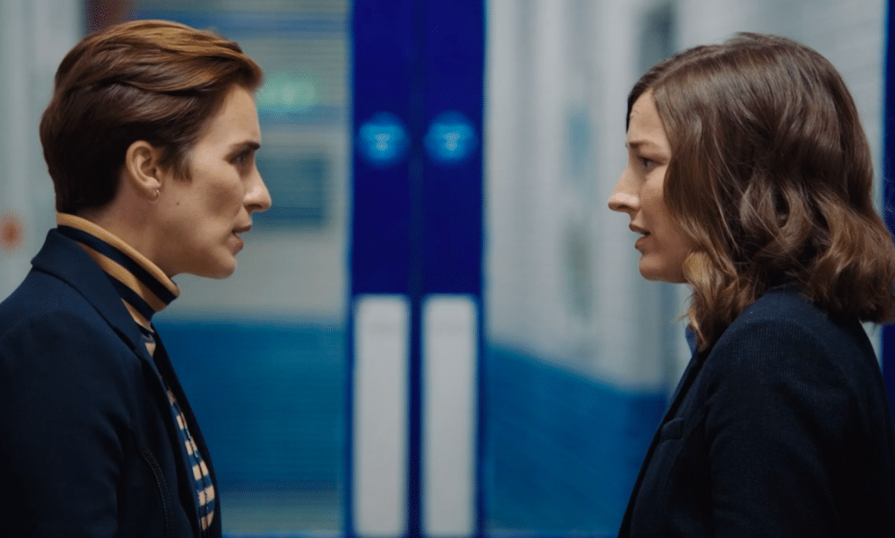 DI Kate Fleming and DCI Joanne Davidson in the Line of Duty season six premiere
