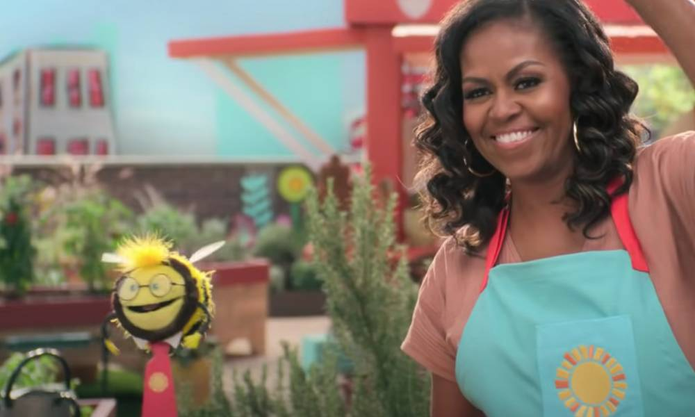 Michelle Obama Busy the Bee Waffles + Mochi Netflix