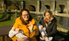 The Irish couple's recognition as their twins' parents marks a step forward for same-sex parents across the Republic of Ireland.
