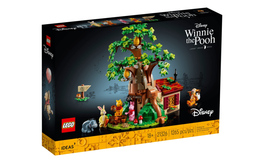 The Winnie the Pooh Lego set is priced at £89.99. (Lego)