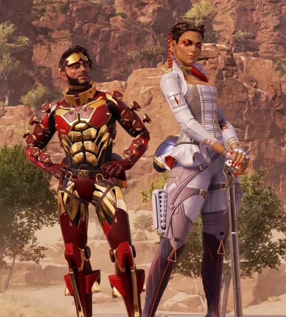 Mirage and Loba Apex Legends
