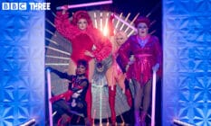 The four finalists of Drag Race UK