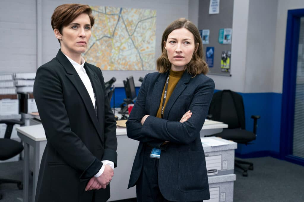 Line of Duty's DI Kate Fleming and DCI Joanne Davidson.