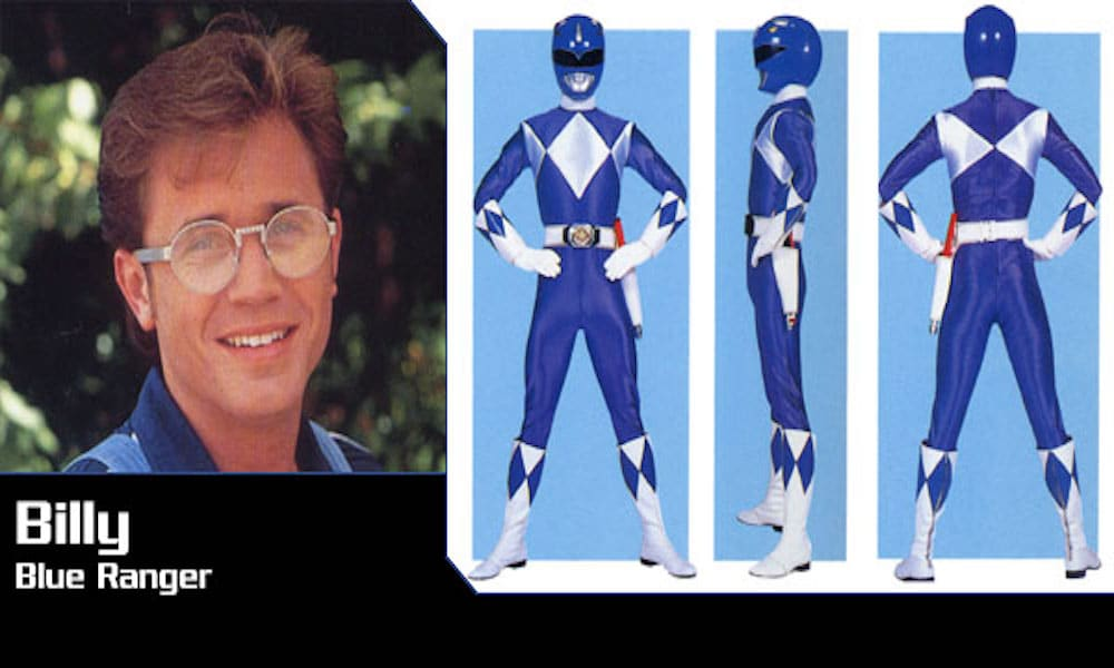 The original blue Power Ranger is a survivor of conversion therapy