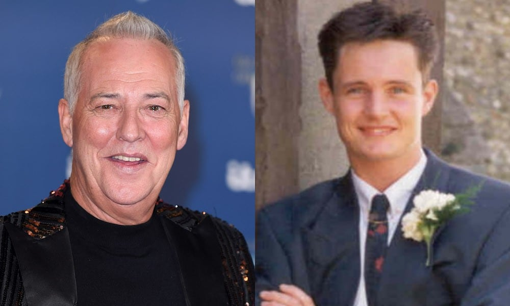 Michael Barrymore (left) and Stuart Lubbock (right)