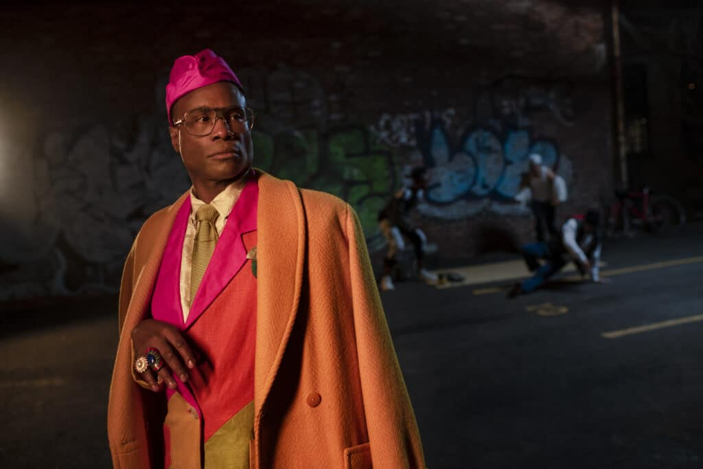 Billy Porter as Pray Tell.
