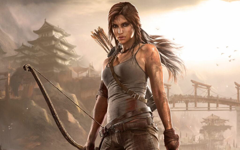 Lara Croft tomb raider 2013