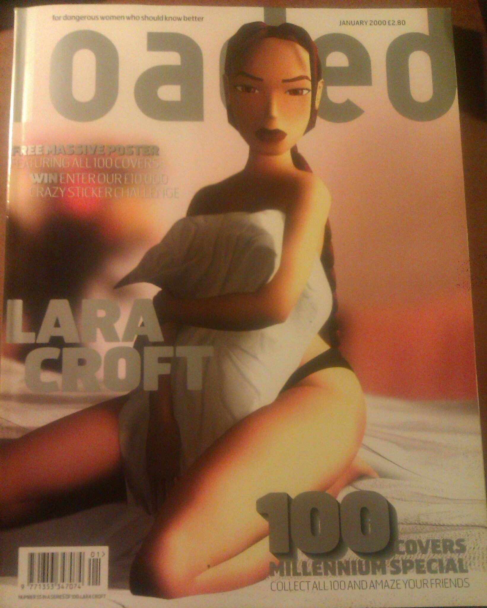 Lara Croft Loaded magazine