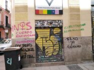 Spain: LGBT centre vandalised with transphobic graffiti opposing trans law
