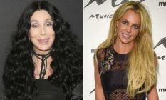 Cher Britney Spears photo side-by-side