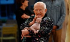 Leslie Jordan in his new sitcom Call Me Kat