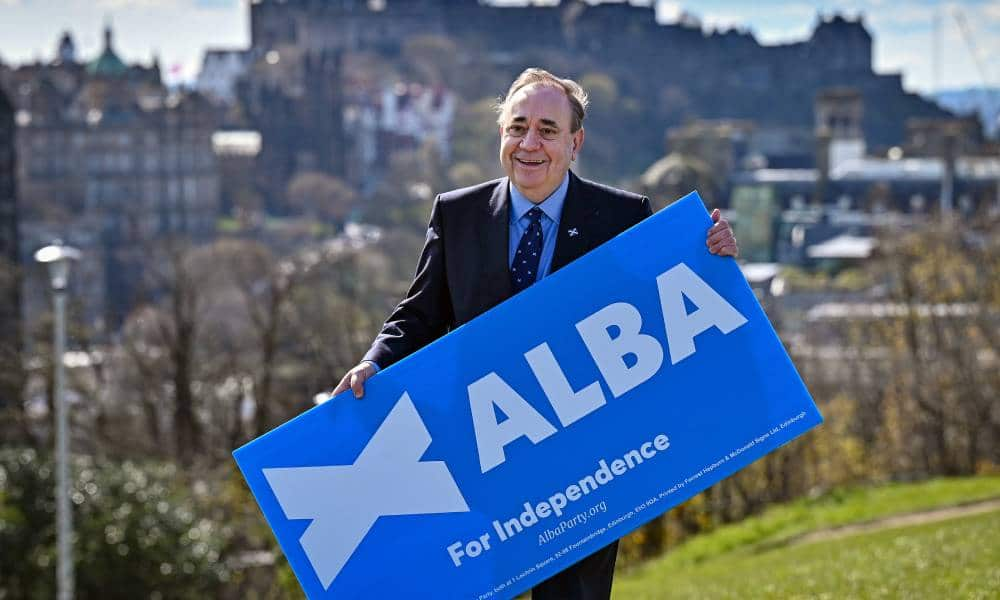 Alex Salmond defends Alba Party candidate spreading 'sinister' Stonewall 'conspiracy'