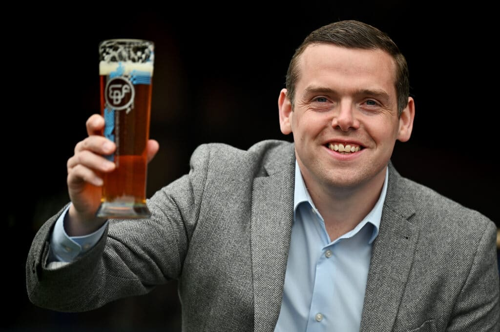 Scottish Conservative Party leader Douglas Ross