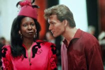 Whoopi Goldberg and Patrick Swayze