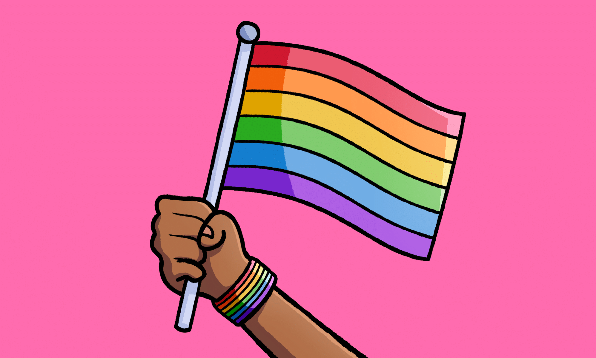 Donald Trump failed to mark Pride Month, so LGBT activists are doing it for him