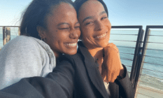 Taylour Paige and Zoe Kravitz