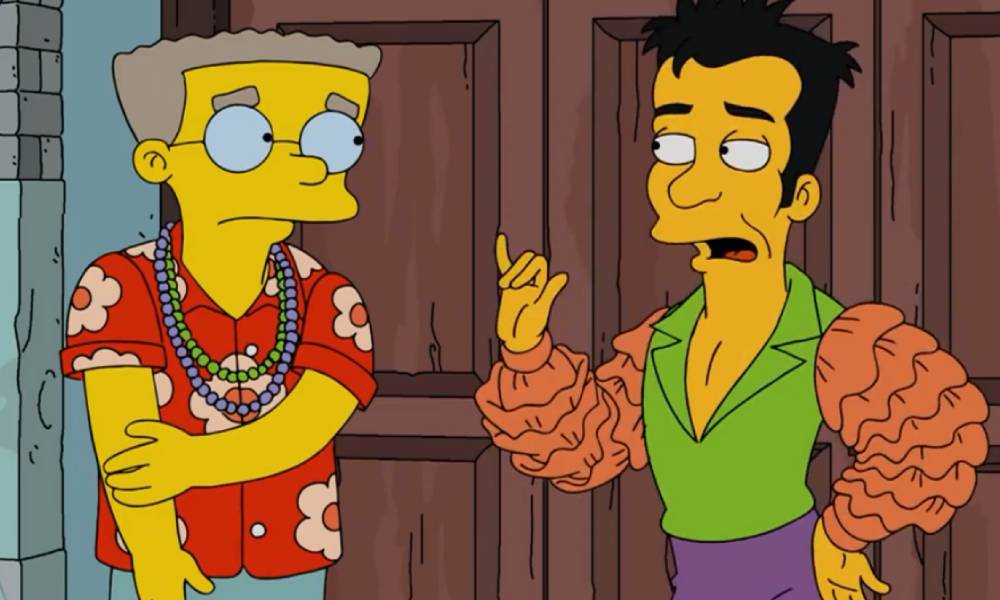 The Simpsons FOX Julio Mr Smithers